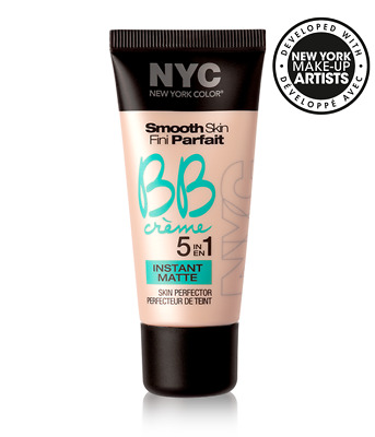 NYC Smooth Skin BB Cream Creme 5 in 1 Skin Perfector Instant Matte Light 30ml