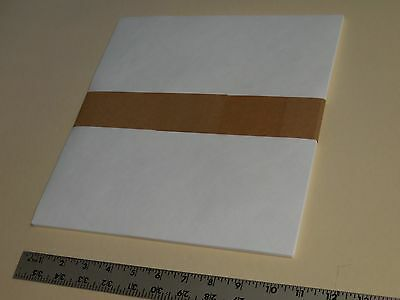 25 White Tyvek Sheets-10 1/2 X 11,SUB 14, ALL PURPOSE-tear water resistant Paper