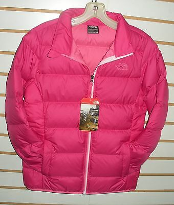 fb7ab8623 THE NORTH FACE GIRLS ANDES 550 DOWN WINTER JACKET CHQ7 Purple Pink ...