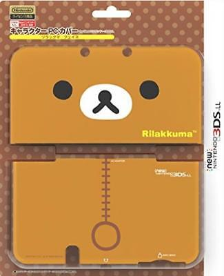 Character PC Cover Rilakkuma Face for new Nintendo 3DS LL XL