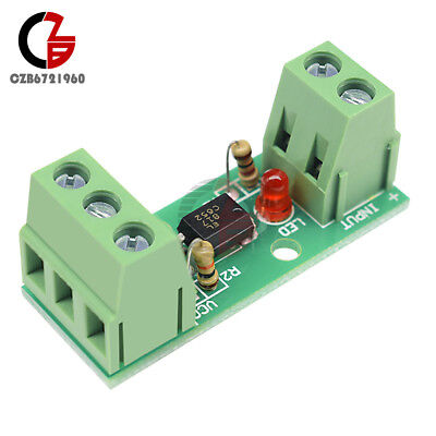 12V 1-Channel Optocoupler Isolation Module Testing Module No PCB Holder