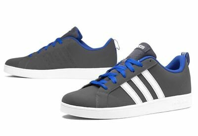 ADIDAS NEO Kids Boy's NWT Gray & Blue VS Advantage K Sneakers Shoes Size: Choose