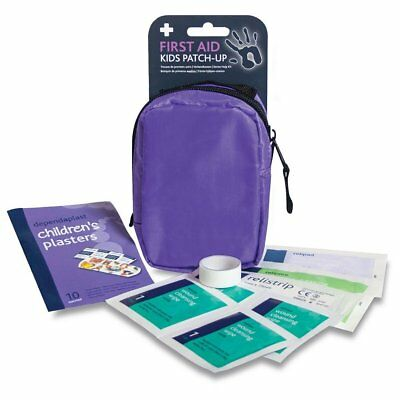 Kid's Patch-Up First Aid Kit - Mini Portable Set - Child Children Baby Care