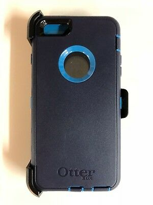 Otterbox Defender Case for Iphone 6 Plus & iPhone 6s Plus W/Holster Navy/Blue