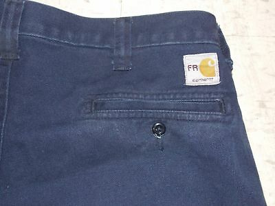 Workrite / Carhartt FR Navy Blue Work Pants - Free Shipping