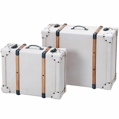 NEW 2 Piece Storage Suitcase Set - SLH House,Boxes & Baskets