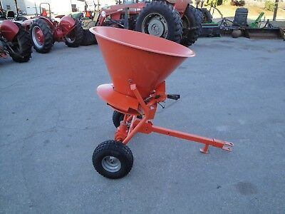 Nice 300 Lb  Pull  Type Ground Driven  Spreader