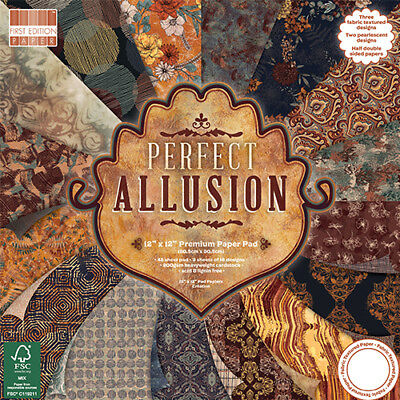 First Edition Perfect Allusion 12x12 First Edition 48 Sheet Paper Pad FEPAD173