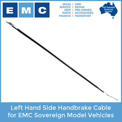 Handbrake Cable for EMC Sovereign Electric Vehicles (Left Hand Side)