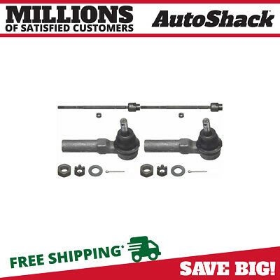 New Set 2 Inner and 2 Outer Tie Rod Ends fits Buick Pontiac Chevrolet Oldsmobile