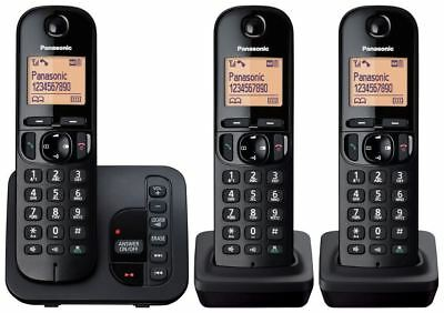 Panasonic Dect Trio Phone Answermachine Call Block