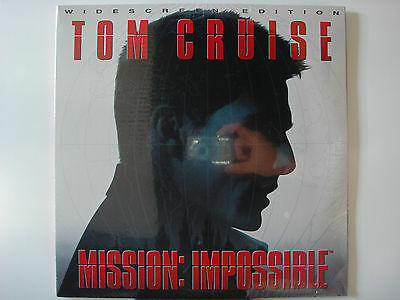 Mission Impossible 1996 LTBX AC-3 THX Laser Disc NEW - Tom Cruise - Jon Voight