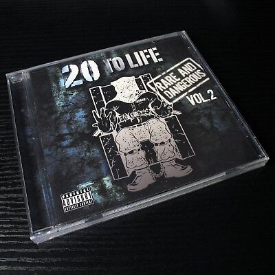 20 To Life - Rare & Dangerous Vol.2 USA CD NEW Death Row Explicit Version #20-4*