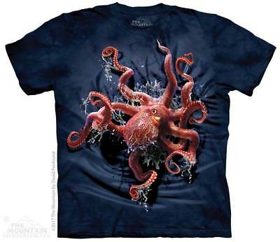Octopus Climb Kids T-Shirt by The Mountain. Colorful Sizes S-XL Youth NEW