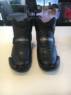 Alpinestars SMX-1R Motorcycle Road Sports Ankle Boots, Riding Shoes, SIZE US 9.5