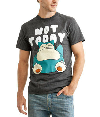 226ac492c POKEMON SNORLAX NOT Today T-Shirt - $16.99 | PicClick
