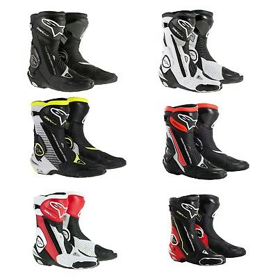 2019 Alpinestars Racing SMX Plus Vented Sport Bike Motorcycle Street Track Boots