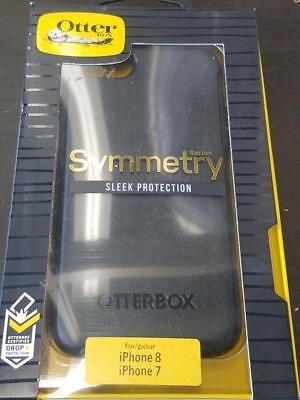 "NEW OEM Original Genuine Otterbox Symmetry Series Case for iPhone 8/7 4.7"" Black"
