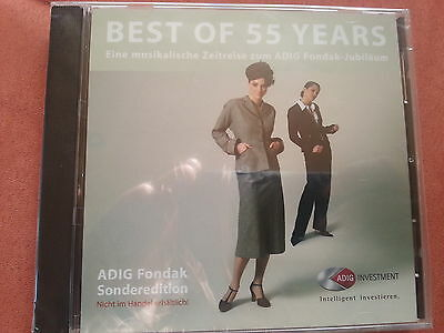 Musik-CD: Best of 55 Years - ADIG Fondak Sonderedition - Neu