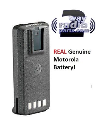 Genuine Motorola CP185 Battery LiIon 1750 mAh PMNN4081AR PMNN4476A Factory Fresh