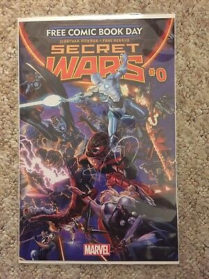 Secret Wars #0 (2015) Free Comic Book Day Issue