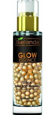 (49,97€/100g) BIELENDA GLOW Gold aufhellung Make Up Basis Base müde Haut 30g