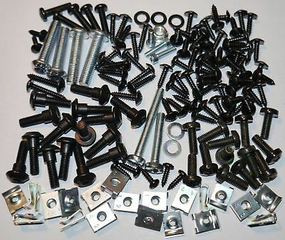 Mega Set Kit Screw Fairing Bolts Screws Gilera Runner Piaggio + Clips -144 Parts