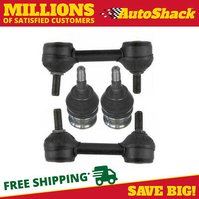 New Package of Two Ball Joints and Two Sway Bars fits 2000-2009 Subaru