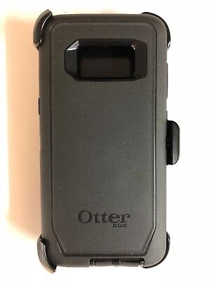 OtterBox Defender Rugged Case w/Holster Belt Clip For Samsung Galaxy S8 Black