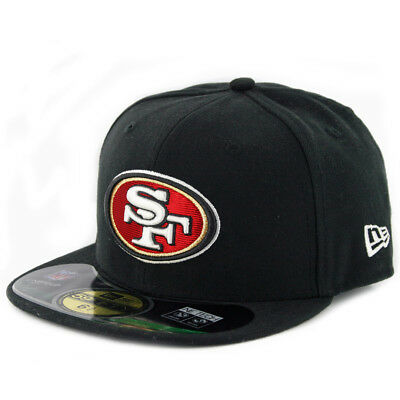 "New Era 59Fifty San Francisco 49ers ""Onfield"" Fitted Hat (Black) Kid's NFL Cap"
