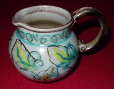 Denby Glyn Colledge Signed Jug Approx 4 3/4 Inches Tall From Base To Handle