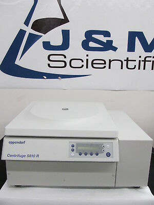 Eppendorf 5810R Refrigerated Benchtop Centrifuge with A-4-62 Rotor