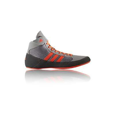 Adidas Havoc Boxing Boots Kids Mens Shoes - Grey Orange