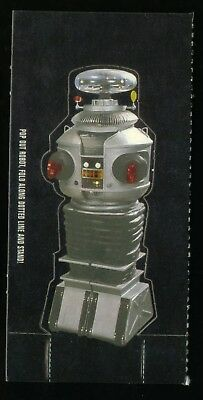 """LOST IN SPACE CLASSIC (Inkworks/1997) """"POP OUT ROBOT"""" CARD: CUT FROM DISPLAY BOX"""