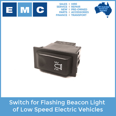 Switch for Flashing Beacon Light of Low Speed Electric Vehicles