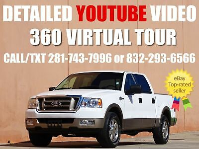 2005 Ford F-150 King Ranch Crew Cab Pickup 4-Door 2005 FORD F-150 KING RANCH CREW CAB! ACCIDENT FREE! XTRA CLEAN CARFAX CERTIFIED!