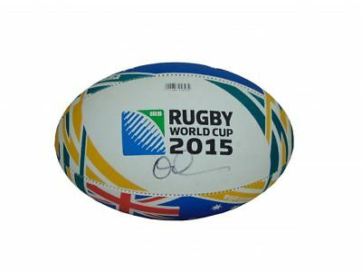 Quade Cooper Signed Australia Wallabies Rugby World Cup Ball + *photo Proof*