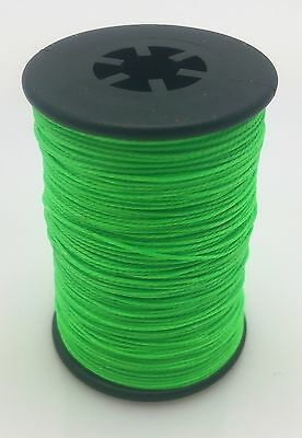 Flo. Green BCY 3D Serving Thread .017 120 Yard Jig Spool Bow String End Serving