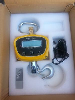 CRANE SCALES  DIGITAL CRANE SCALE 1000 KG fishing scales