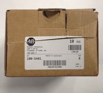 Lot Of 10 New  ALLEN BRADLEY AUXILIARY  SIDE MOUNT 100-SA01 SER. B