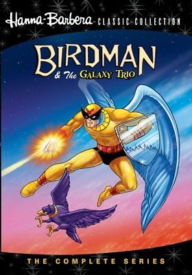Birdman and the Galaxy Trio Complete Hanna Barbera TV Series DVD Set Collection
