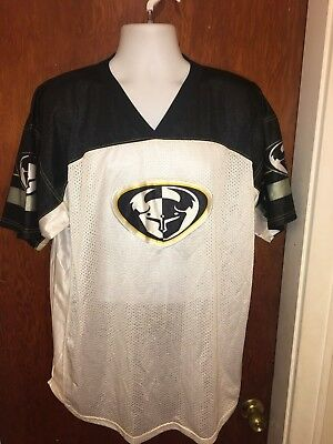 thor white and black motocross jersey 2xl
