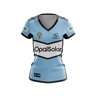 Cronulla Sharks 2018 Home Jersey Mens, Ladies, Kids & Toddlers Sizes NRL XBlades