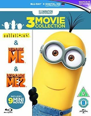 Minions Collection (Despicable Me/Despicable Me 2/Minions) [Blu-ray][Region-Free