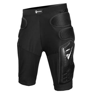 Motorcycle Motocross Skiing Armor Shorts Padded Hip Bum Protector Pants Skating