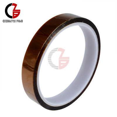 1.5cm 15mm X 33m 100ft Tape High Temperature Heat Resistant Polyimide