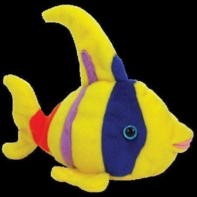 Ty Beanie Babies Oriel the Angel Yellow Fish Retired