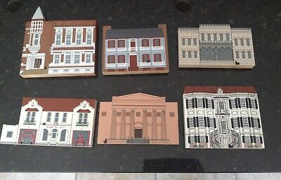 Cats Meow Village Lot Of 6 From Augusta, Georgia
