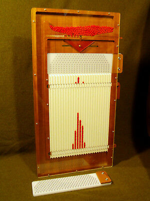 Lightning Calculator WD-5 Quincunx,teach SPC,probability math,w/2 pin boards