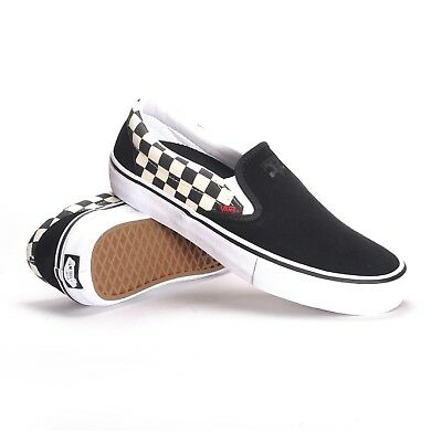 Vans Classic Slip On Pro Thrasher Black Checkerboard Size 12 Aust Seller